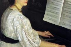 Armando Spadini. Ritratto della cognata 1908 - Olio su tela, 95 x 73 cm