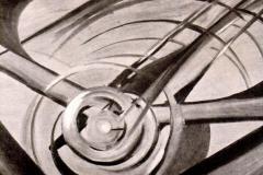 Tato, Dinamismo Aereo - Tecnica: Olio su tela