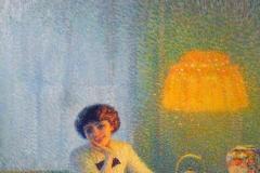 Aleardo Terzi. Meriggio d'Autunno, 1913 | Olio su tela, 103 x 93 cm