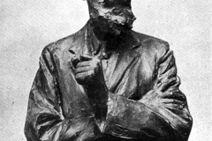 Paolo Troubetzkoy. Bernard Shaw - Tecnica: Bronzo