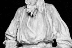 Paolo Troubetzkoy. Busto di Tolstoj - Tecnica: Bronzo
