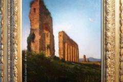 Achille Vertunni - Acquedotto nella Campagna Romana