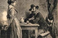 Giuseppe Zannoni - Cacciatore e Volpe, 1881