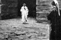 Alberto Zardo - Testata per il Canto IX dell'Inferno, 1909