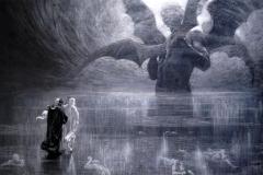 Alberto Zardo - Canto XXXIV, Apparizione di Lucifero