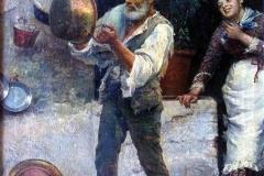 Fausto Zonaro - Passa la Vacca (Curiosità Napoletana)