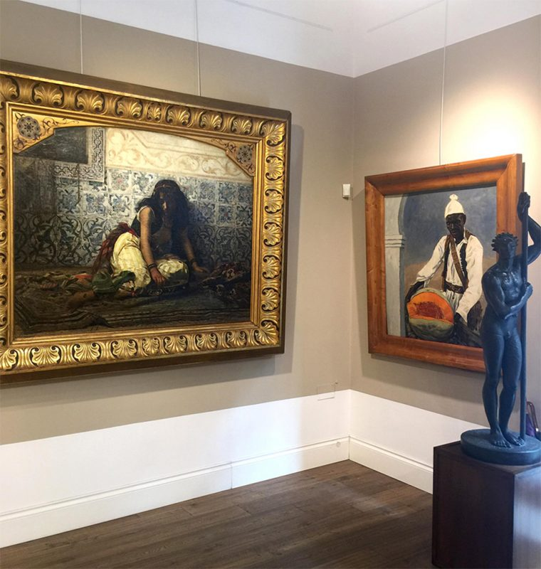 Galleria Berardi. Interno, Arte dell'Ottocento
