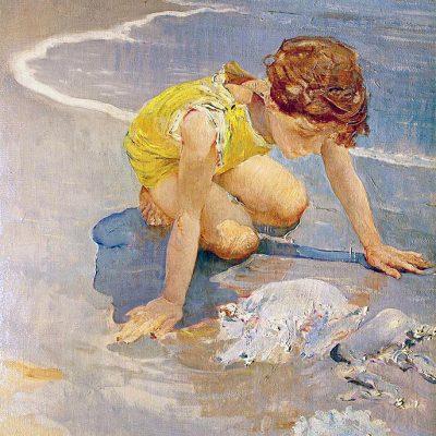 Giulio Aristide Sartorio. La medusa, 1920 ca.