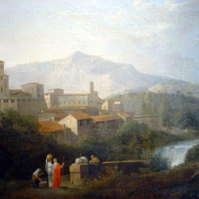 Jules-César Denis van Loo. Paesaggio neoclassico, 1790