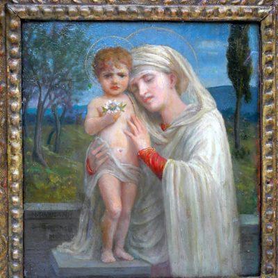 Napoleone Parisani. Madonna con bimbo (In Arte Libertas)