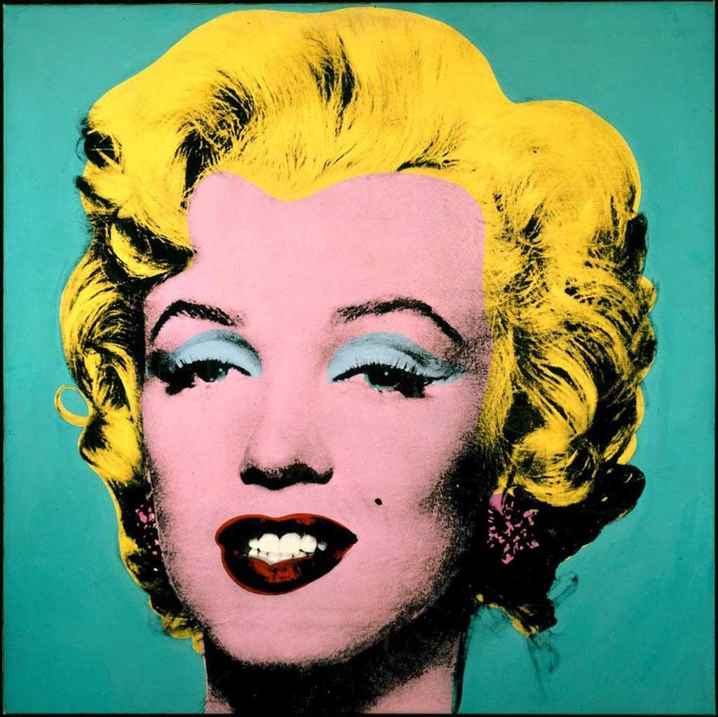 Andy Warhol. Marilyn. Tecnica: Serigrafia, 91x91 cm