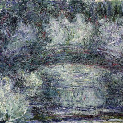 Claude Monet. Il ponte giapponese, 1918-1919. Olio su tela, cm 74x92. Parigi, Musée Marmottan Monet