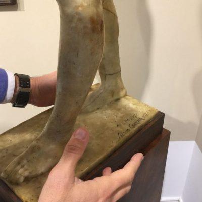 Come si valuta una scultura. Galleria Berardi. Come riconoscere le iscrizioni