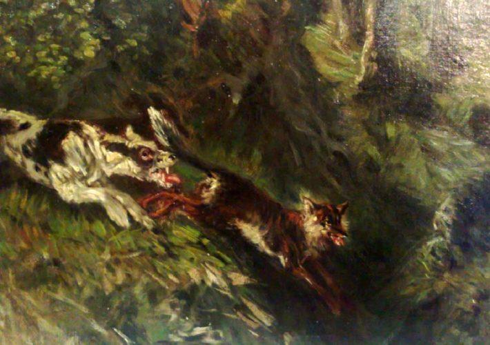 La caccia. Palizzi Giuseppe