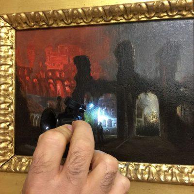 Pittura. Utilizzo degli strumenti professionali