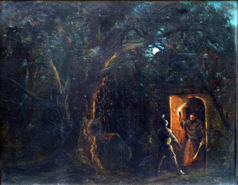 Karl Pavlovič Brjullov. Scena storica, 1850