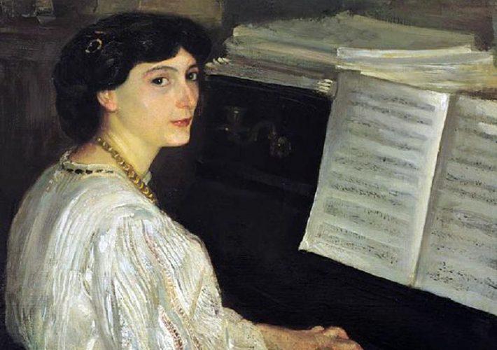 Armando Spadini. Ritratto della cognata, 1908 - Olio su tela, 95 x 73 cm