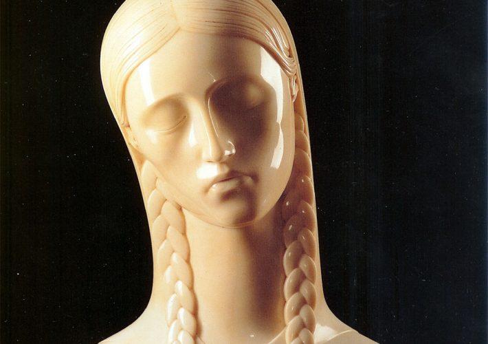 "Adolfo Wildt. Madre, 1929 - Marmo, 48x49x24 cm. Iscritto""A. Wildt"""