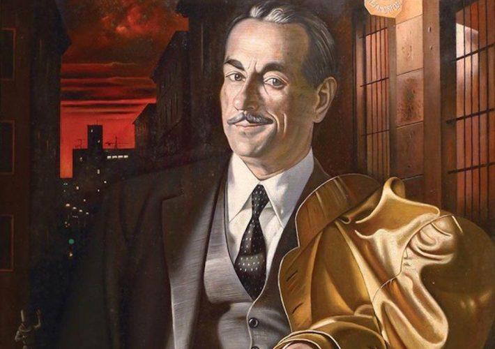 Gregorio Sciltian. Ritratto di Peppino De Filippo - Tecnica: Olio su Tela