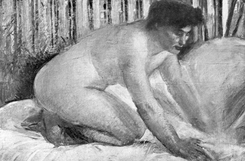 Armando Spadini, Nudo di donna, 1929