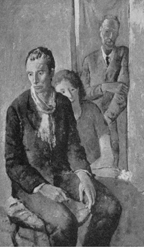Felice Carena, Solitudine, 1932