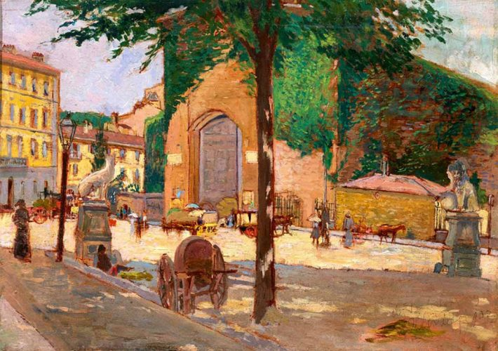 Ulvi Liegi. Porta Romana