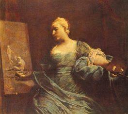 Giovanni Battista Piazzetta. L'Arte. Tecnica: Olio su tela. Milano, Collezione Privata