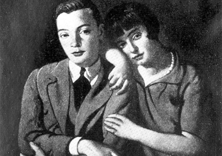 Piero Marussig. Due Cugini, 1927 (dettaglio). Tecnica: Olio su tela -