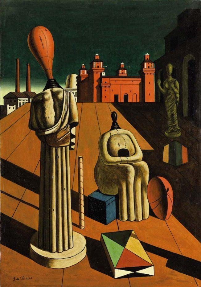 Metafisica. Le Muse Inquietanti, 1918 - Giorgio De Chirico