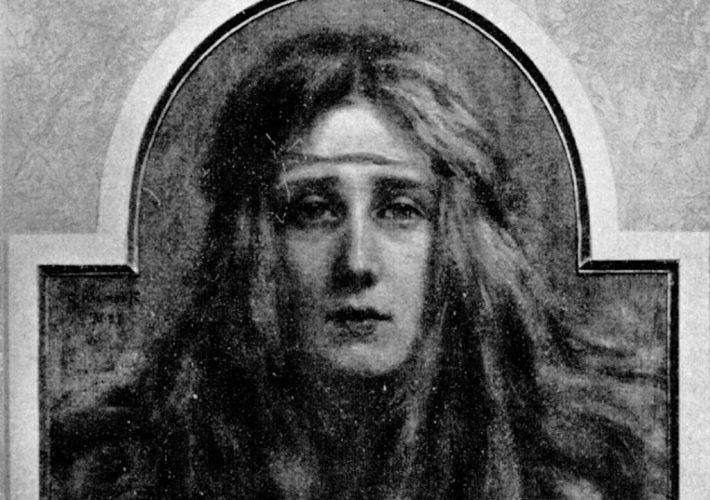 Giorgio Kienerk. Dolore, 1898. Tecnica: Olio su tela