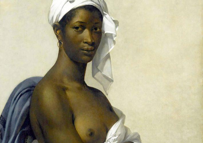 Il modello nero. Marie-Guillemine Benoist. Ritratto di Madeleine, 1800 (dettaglio).