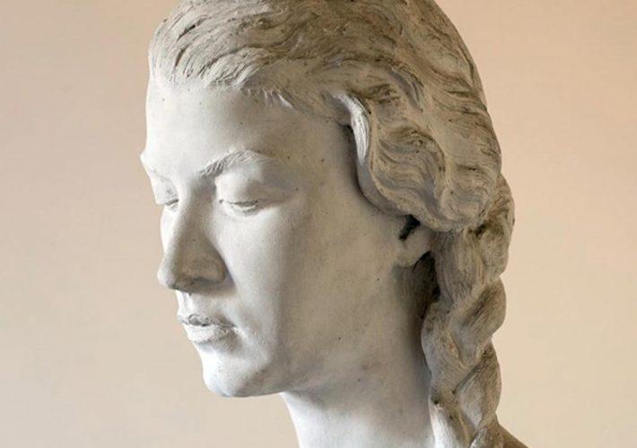 Domenico Ponzi. Anna, 1953 (dettaglio). Tecnica: Busto in gesso.