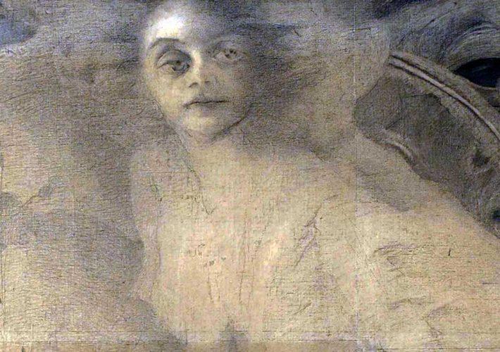Romolo Romani. Ritratto di Dina Galli (dettaglio), 1908. Tecnica: Matita su carta