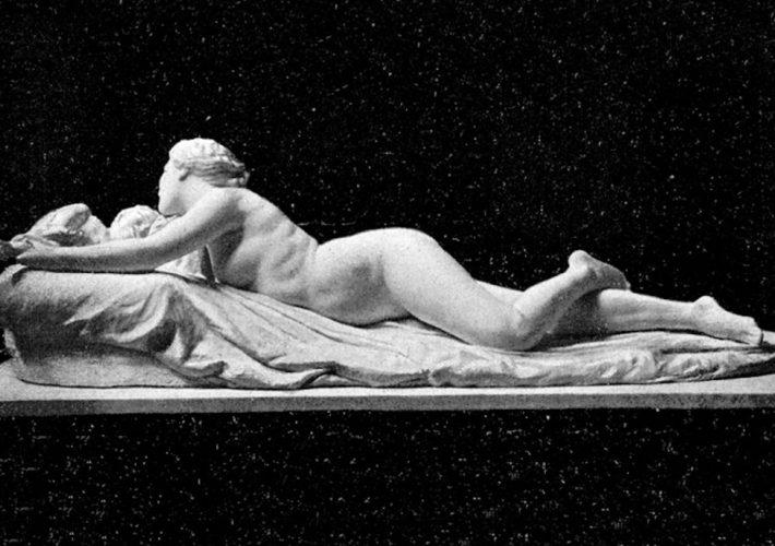 Adolfo Apolloni. Sorriso di Madre. Scultura in gesso