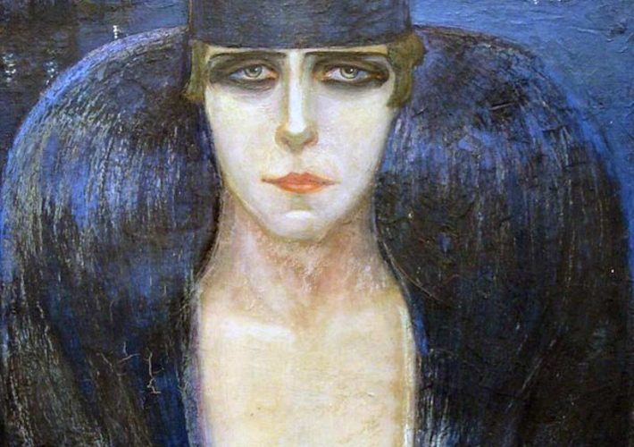 Adriana Bisi Fabbri. Principessa Mananà Pignatelli, 1917 (dettaglio). Tecnica: Olio su tela riportata su cartone.