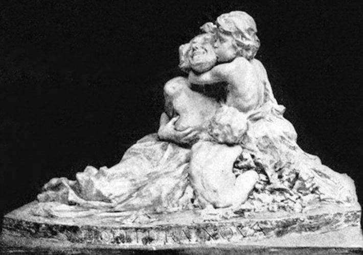 Cesare Ravasco. Fioritura Nuova. Scultura in marmo