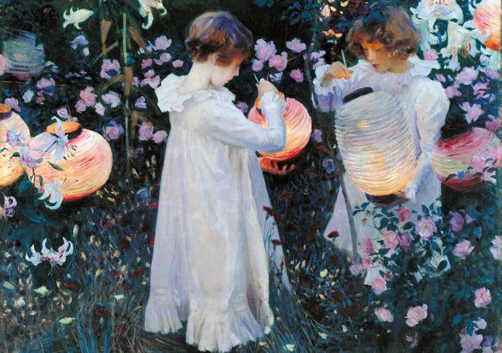 John Singer Sargent. Carnation, Lily, Lily, Rose, 1885-86. Tecnica: Olio su tela. Londra, Tate Britain