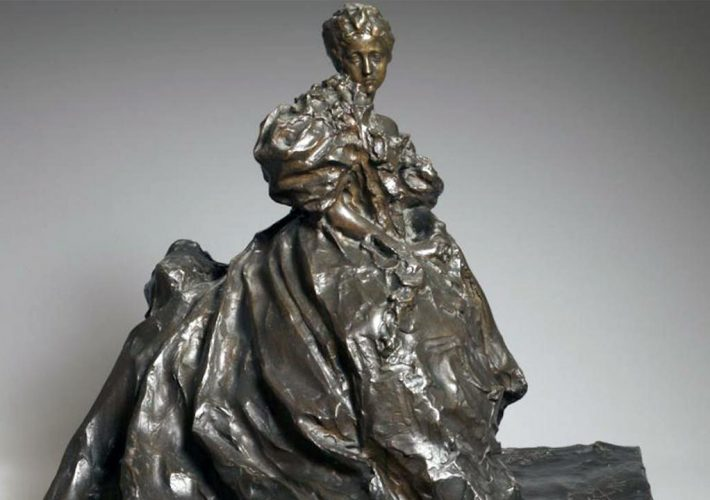 Paolo Troubetzkoy. Adelaide Aurnheimer (dopo il ballo), 1897. Scultura in bronzo