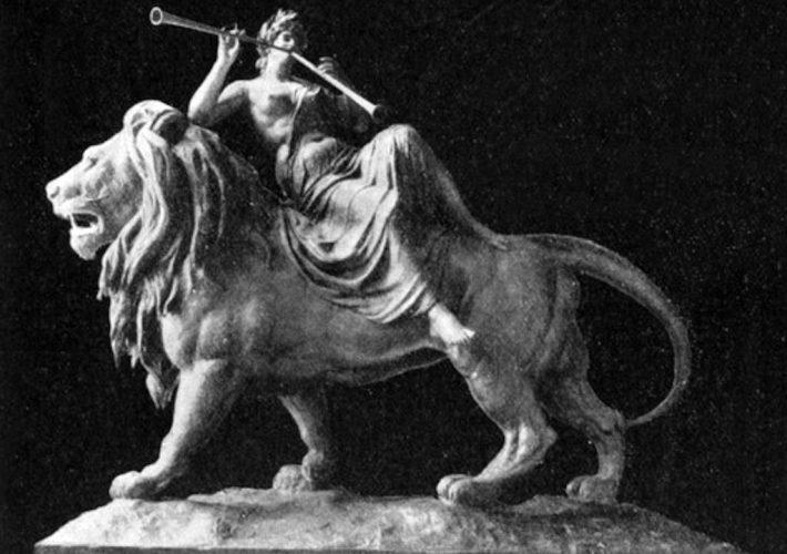 Mario Rutelli. La Lirica. Scultura in marmo